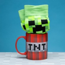 Minecraft Presentset med Mugg och Strumpor