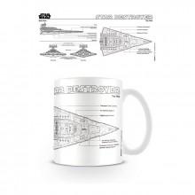 Star Wars Kopp Star Destroyer Tegning