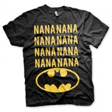 T-Skjorte NaNa Batman (Sort)