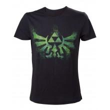 Zelda Green Logo T-Skjorte