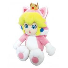 Nintendo - Cat Peach Kosedyr 25Cm