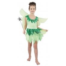 Grønn Fe Karnevalskostyme Barn