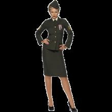 Kostyme Krigsoffiser Dame
