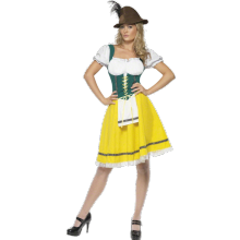 Oktoberfest-kostyme, Kvinne
