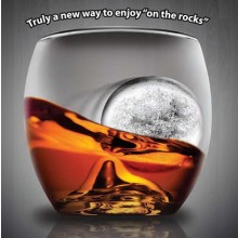 On The Rock Whiskyglass Og Isform