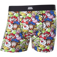 Nintendo Super Mario Og Venner Underbukser