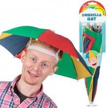 Paraplyhatt Randig