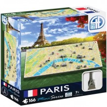 Bypuslespill 4D Mini Paris
