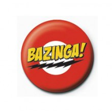 The Big Bang Theory Bazinga Button