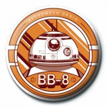 Star Wars Button Bb-8