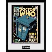 Doctor Who Innrammet Plakat Tardis