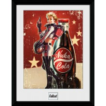 Fallout Nuka Cola Innrammet Poster