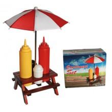 Piknik Sett for Ketchup og Sennep
