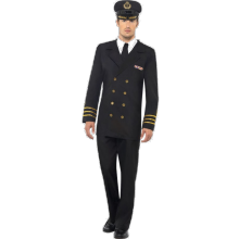 Marineoffiser-kostyme, Herre