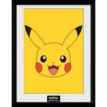 Pokémon Pikachu Poster Innrammet