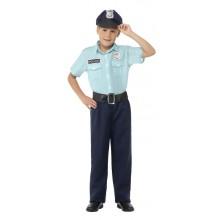 Politi Karnevalsdrakt Barn
