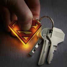 Superman Lysende NØKkelring