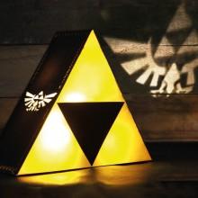 Zelda Triforce Lampe