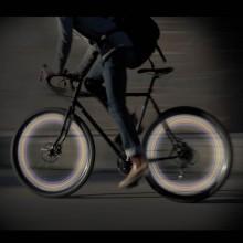 LED-lys til sykkelhjul