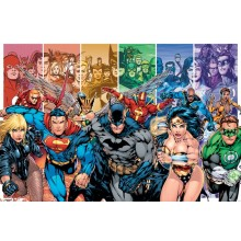 PLAKAT JUSTICE LEAGUE AMERICA (GENERATIONS)