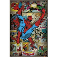 PLAKAT MARVEL COMICS (SPIDER-MAN RETRO)