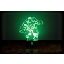 Marvel Hulken Lampe