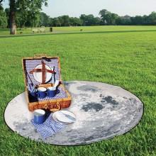 Piknikteppe Månen