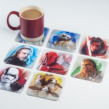 Star Wars Drikkeunderlag The Last Jedi 8-pakning