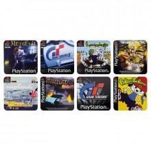 Playstation Spill Drikkeunderlag 8-pakning