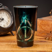Harry Potter Glass Deathly Hallows (Dødstalismanene)