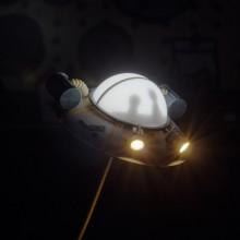 Rick And Morty USB-lampe Ship