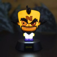 Crash Bandicoot Doctor Neo Cortex 3D Lampe