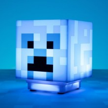 Minecraft Charged Creeper Lampa