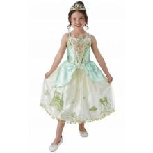 Prinsessan Tiana Barnmaskeraddräkt