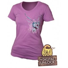 T-Skjorte DOTA 2 Puck Girlie + Digital Unlock