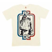 Star Wars T-Skjorte R2-D2 ØKologisk Bomull