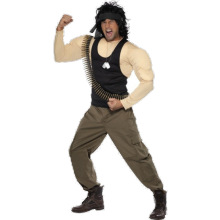Rambo Kostyme