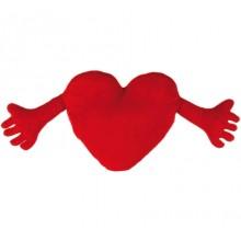 Hjerte Med Armer-Pute
