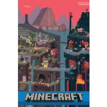 Plakat Minecraft Sam Cube