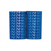 Serpentiner Holografiske Blå 2-pakning
