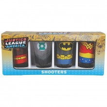 Shotglass DC Comics Justice League