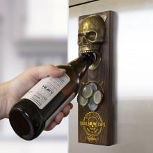 Magnetisk Flaskeåpner Skull Cap
