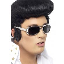 Solbriller Elvis Sølv