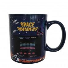 Space Invaders Varmefølsomt Krus