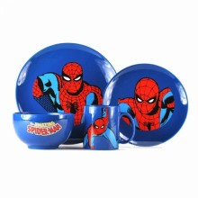 Marvel Spiderman Bestikk 4 deler