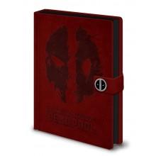 Deadpool Notatbok Splat