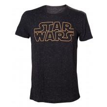 Star Wars Stars And Logo T-skjorte
