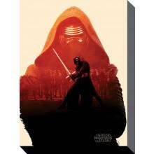 Star Wars Canvas Kylo Ren 60 x 80 cm