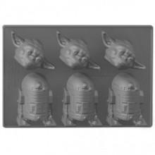 Star Wars Yoda og R2-D2 Isbitform