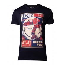 Star Wars AT-AT Poster T-skjorte
